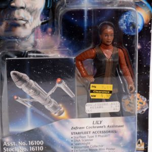 STAR TREK FIRST CONTACT LILY ZEFRAM COCHRANE'S ASSISTANT