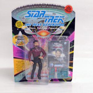 STAR TREK THE NEXT GENERATION COMMANDER WILLIAM RIKER