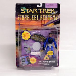 STAR TREK STARFLEET ACADEMY CADET GEORDI LAFORGE