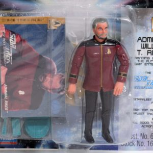 """STAR TREK THE NEXT GENERATION ADMIRAL RIKER FROM """"ALL GOOD THINGS"""""""