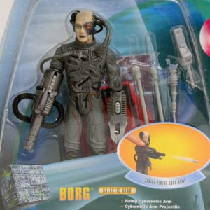 STAR TREK SERIALIZED WARP FACTOR SERIES 1 BORG
