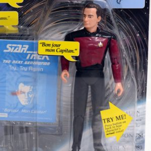 STAR TREK SPACE TALK SERIES Q