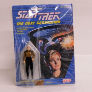 GALOOB STAR TREK THE NEXT GENERATION LEUTENANT TASHA YAR