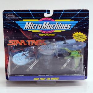 MICRO MACHINES SPACE STAR TREK SERIES 3 STAR TREK THE MOVIES
