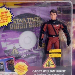 STAR TREK STARFLEET ACADEMY CADET WILLIAM RIKER