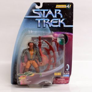 STAR TREK SERIALIZED WARP FACTOR SERIES 4 KANG