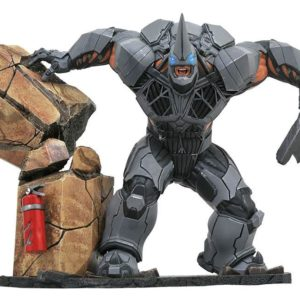 MARVEL VIDEO GAME GALLERY DELUXE RHINO PVC DIORAMA