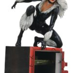 MARVEL COMIC GALLERY BLACK CAT PVC DIORAMA