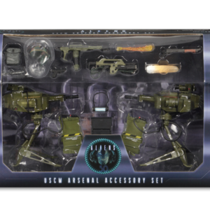NECA Aliens – Accessory Pack – USCM Arsenal Weapons Pack