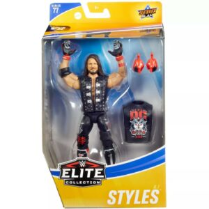 WWE Summerslam Elite Collection AJ Styles Action Figure – Series 77