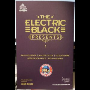 Scout Comics: The Electric Black Presents #1 – Variant Cover