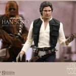 Han Solo and Chewbacca Sixth Scale Figure by Hot Toys