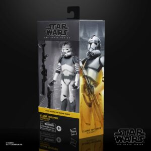 Star Wars The Black Series Clone Trooper (Kamino) 6″ Action Figure