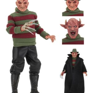 "NECA Nightmare on Elm Street – 8"" Clothed Figure – New Nightmare Freddy"