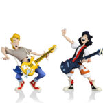 NECA Toony Classics Bill and Ted 2 Pack 6″ Scale Action Figures