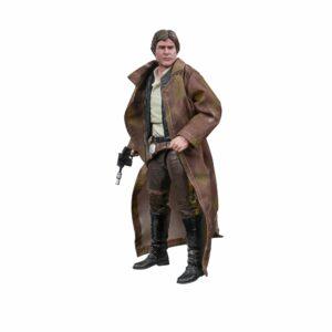 Star Wars The Black Series Han Solo (Endor) Figure