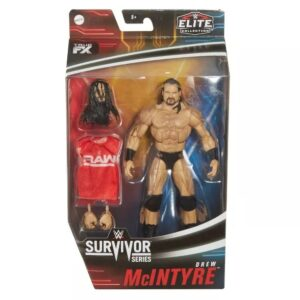 WWE Elite Collection Drew McIntyre Action Figure – Survivor Series