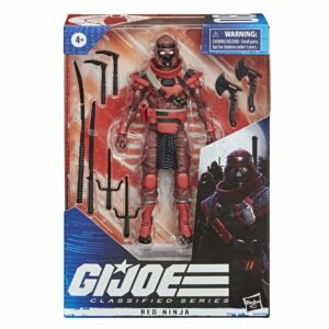 G.I. Joe Classified Series Red Ninja Action Figure